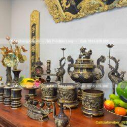 Bộ 3 bát nhang thờ cúng – lư hương đẹp nhất, giá rẻ