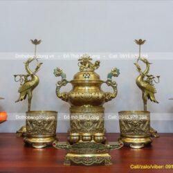 Cửa hàng bán đồ thờ bằng đồng thau cao cấp, chất lượng