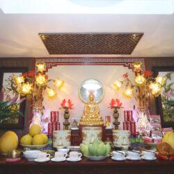 Hướng dẫn cách khai quang tượng Phật khi thờ tại gia