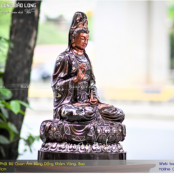 Văn hoá rót đồng đúc tượng phật tại chùa