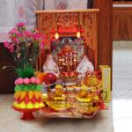 Lưu ý đặt tượng Phật Di Lặc trên ban thờ thổ công – thổ địa