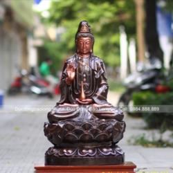 Cửa hàng bán tượng Phật bằng đồng mọi kích cỡ, chất lượng số 1 thị trường
