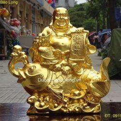 Nhận đúc tượng Phật Di Lặc cho chùa, công trình tâm linh