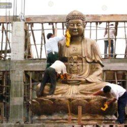 Tư vấn mẫu tượng Phật A Di Đà thờ gia tiên phù hợp, siêu chính xác