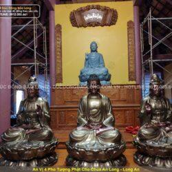 Địa chỉ tạc, đúc tượng Phật A Di Đà bằng đồng uy tín, giá tốt