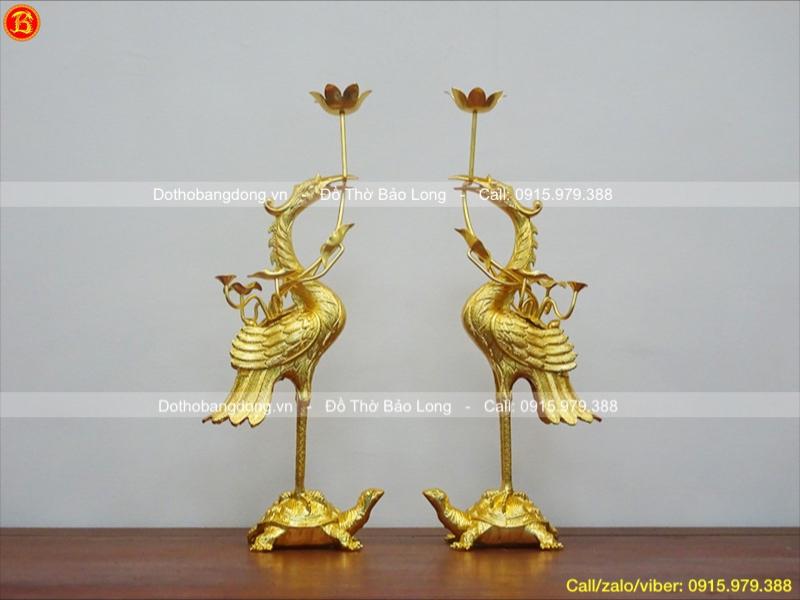 cửa hàng bán đồ thờ mạ dát vàng
