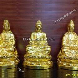 Ý nghĩa bộ tượng Phật Tây Phương Tam Thánh trong văn hóa