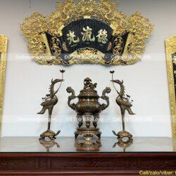 Top 5 mẫu Cuốn Thư Câu Đôi đẹp nhất treo phòng thờ