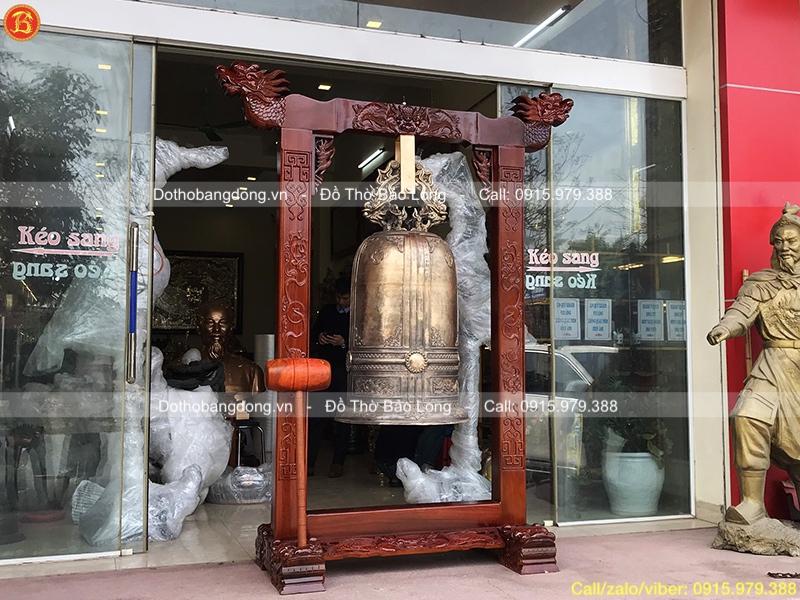 Đúc Chuông đồng 190kg cho chùa ở Vũng Tàu