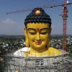 Chiêm ngưỡng tượng Phật A Di Đà lớn nhất Việt Nam
