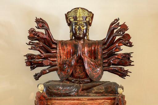 tượng phật bà quan âm chùa hội hạ